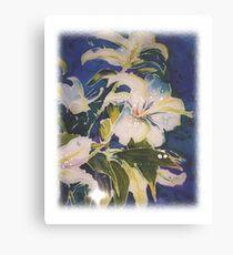 Flowers for Kathleen Canvas Print
