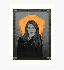 Hallowed Laura Art Print