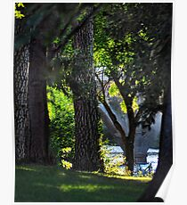 Riverside park Poster