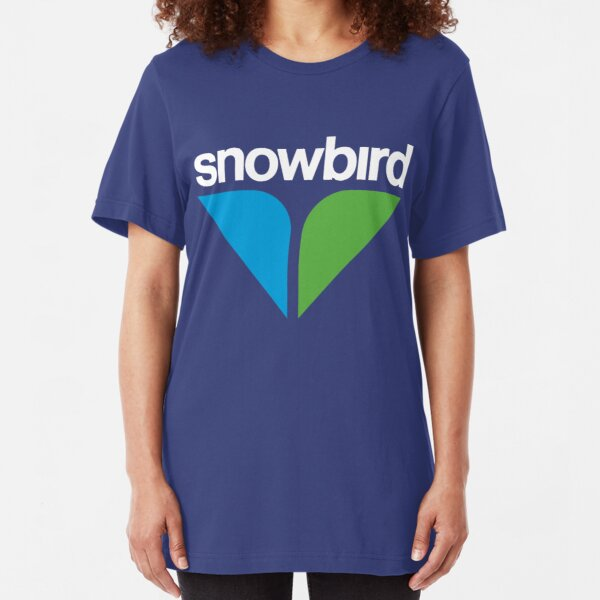 Snowbird Ski Resort Tourism T-Shirt Slim Fit T-Shirt