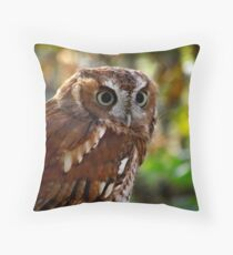 Screech Throw Pillow