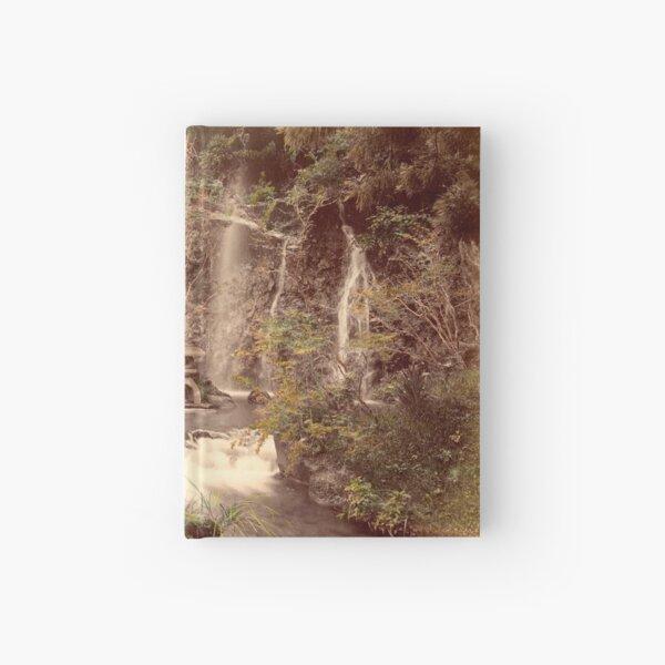 Tamadare waterfall at Yumoto, Japan Hardcover Journal