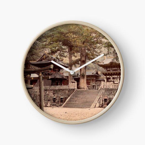 Bronze portal, Nikko Clock