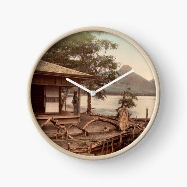 Haruna Lake tea house Clock