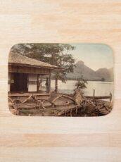 Haruna Lake tea house Bath Mat