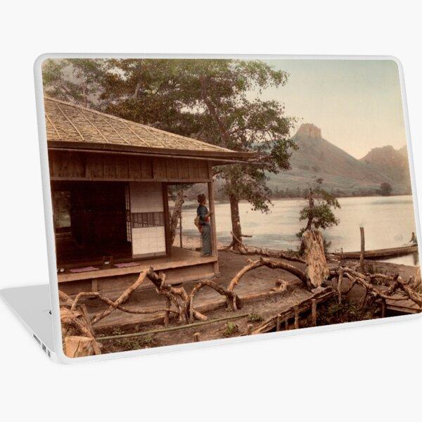 Haruna Lake tea house Laptop Skin
