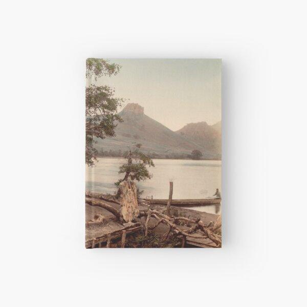 Haruna Lake tea house Hardcover Journal