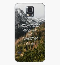 Mountains are calling Case/Skin for Samsung Galaxy