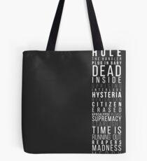 Muse setlist Tote Bag