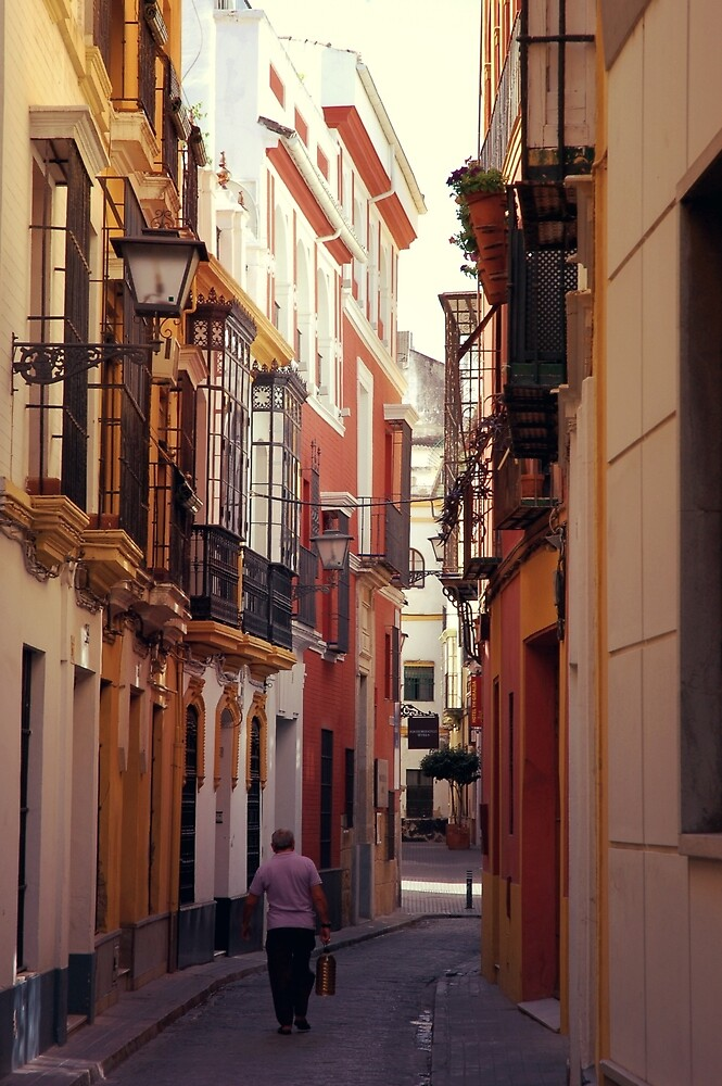 Streets of Seville - Spain  by Andrea Mazzocchetti