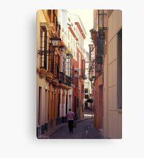 Streets of Seville - Spain  Metal Print