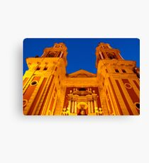 Streets of Seville - Spain - St Ildefonso Canvas Print