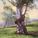 'Murrumbidgee Sentinel' - Pastel by Lynda Robinson