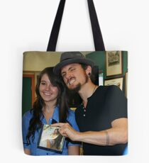 A Day With John Butler Tote Bag