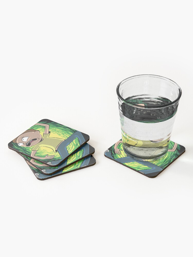 Alternate view of Morty Smith Rick and Morty Coasters (Set of 4)