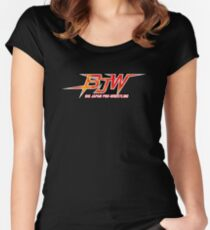 Big Japan Pro Wrestling - BJPW Logo Women's Fitted Scoop T-Shirt