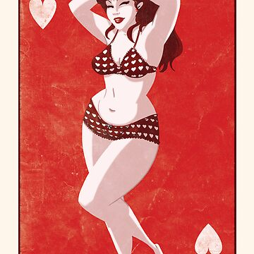Queen Of Hearts by douglasbot
