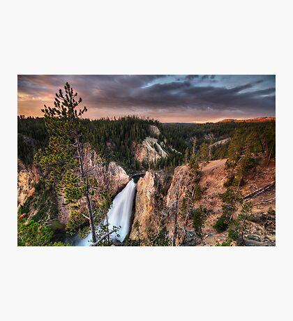 Dawn Tones of Yellowstone Photographic Print