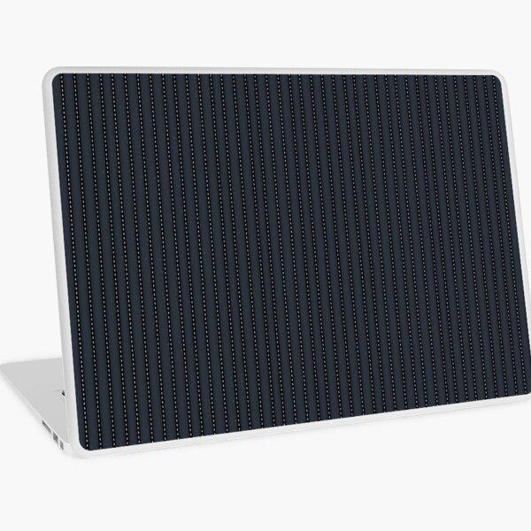 Grey Pinstripe pattern Laptop Skin