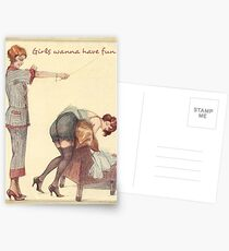 Girls wanna have fun Postcards