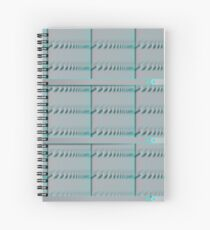 Spiral Metal Panel Spiral Notebook