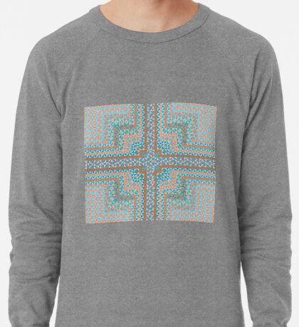 Untitled Encaustic Painting 22 Lightweight Sweatshirt