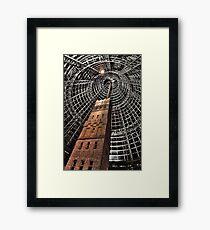 Melbourne Central - leadpipe and shot tower Variation Framed Print