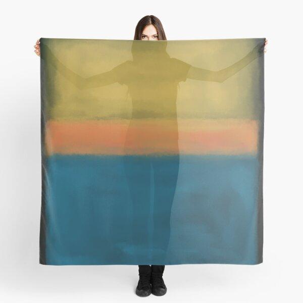 Rothko Inspired #3 Scarf