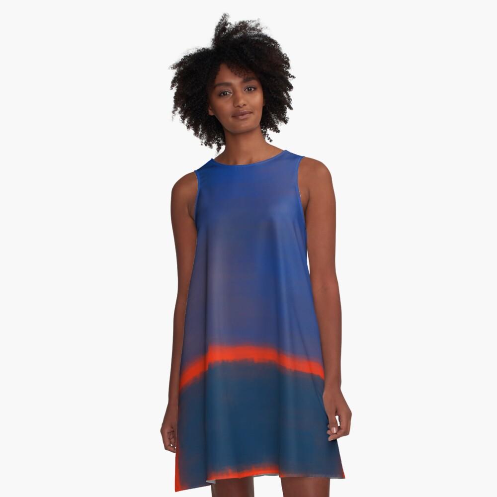 Rothko Inspired #7 A-Line Dress