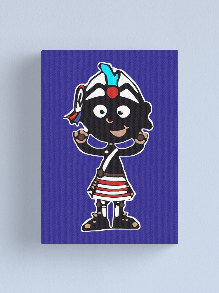 Alternate view of Mascot Coco-nutter Canvas Print