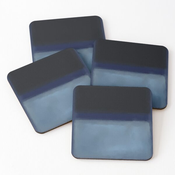 Rothko Inspired #1 Coasters (Set of 4)