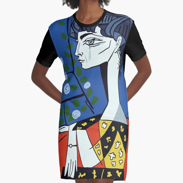 Picasso #1 Graphic T-Shirt Dress