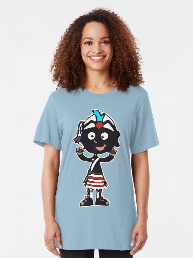 Alternate view of Large Mascot Slim Fit T-Shirt