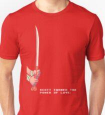 Scott Earned the Power of Love Unisex T-Shirt