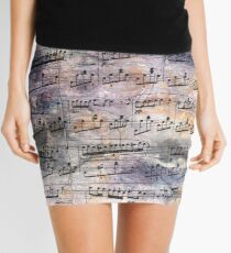 Chopin - Nocturne Mini Skirt