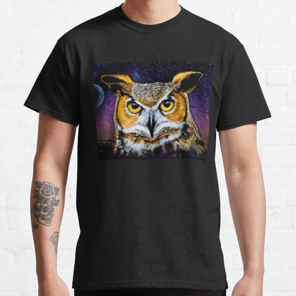 Moonlight owl - animal guide Classic T-Shirt