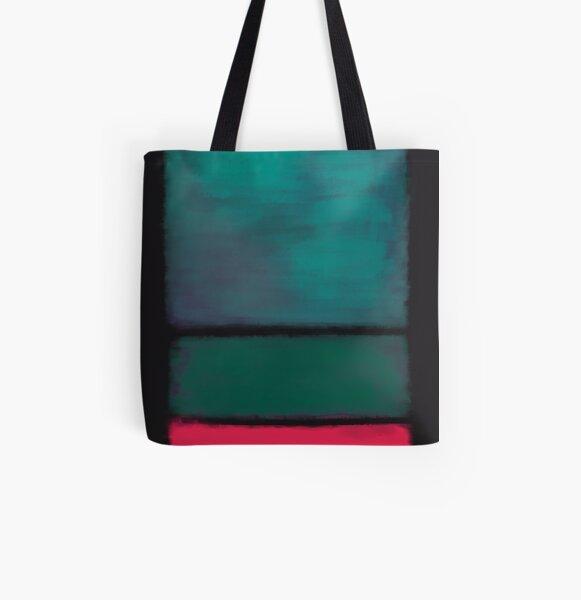 Rothko Inspired #8 All Over Print Tote Bag