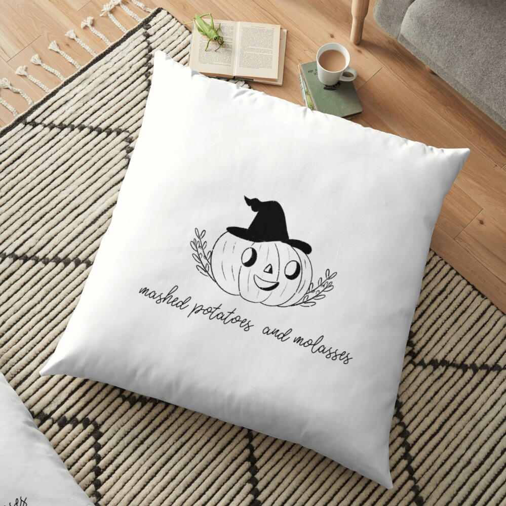 Pumpkin Halloween  Floor Pillow