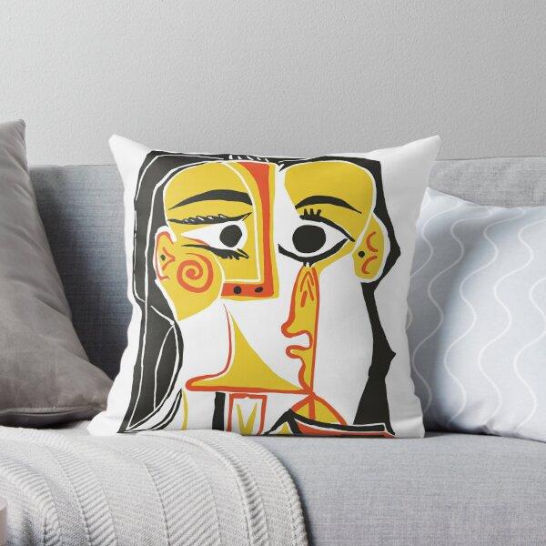 Picasso - Tête de femme n ° 2 Coussin