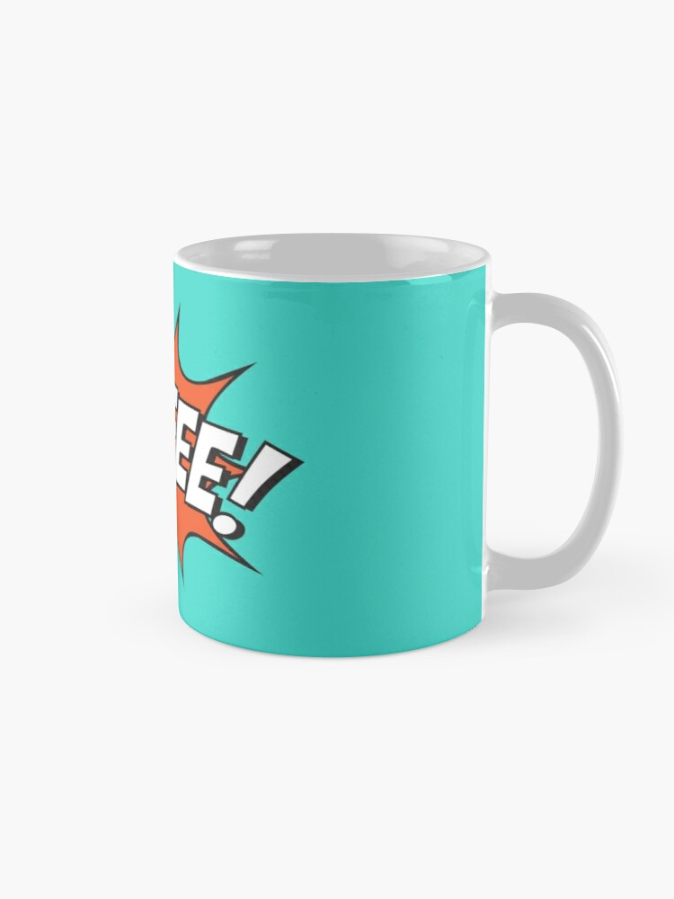 Alternate view of Comic Coffee! Mug