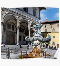 Firenze Fontana-Florence, Italy Poster