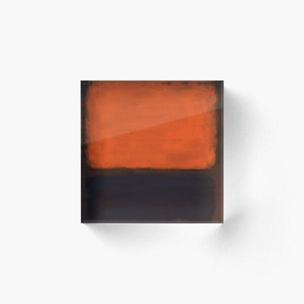 Rothko Inspired #18 Acrylic Block