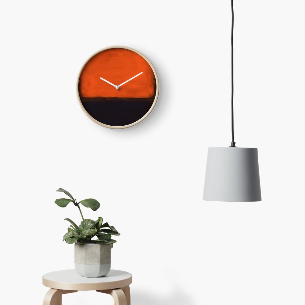 Rothko Inspired #18 Clock