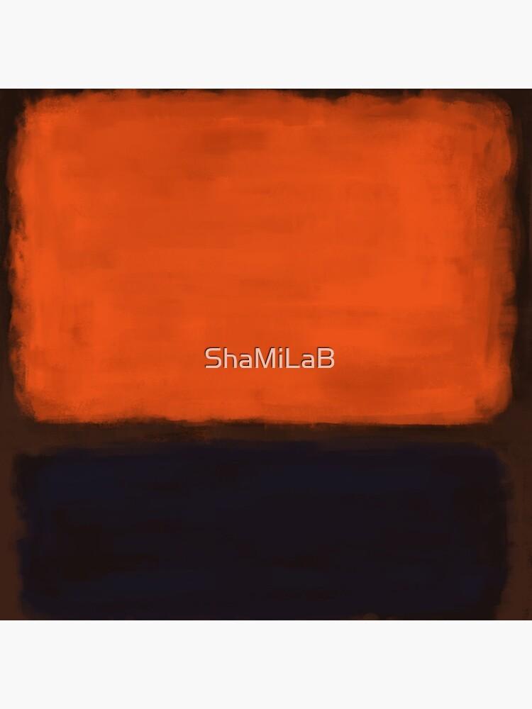 Rothko Inspired #18 by ShaMiLaB