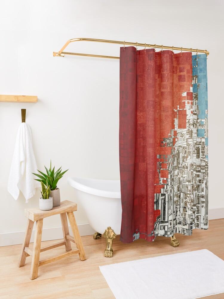 Alternate view of Washington Shower Curtain