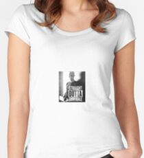 Spike - Straight Outta Sunnydale! Women's Fitted Scoop T-Shirt