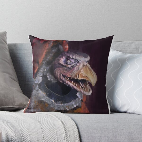 Chamberlain, Dark Crystal Throw Pillow