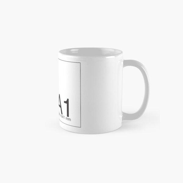 A1 A2 A3 A4 A5 A6 A7 reminder Classic Mug