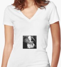 Spike - Straight Outta Sunnydale 2 Women's Fitted V-Neck T-Shirt