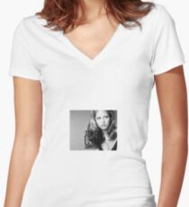 Buffy - Straight Outta Sunnydale Women's Fitted V-Neck T-Shirt